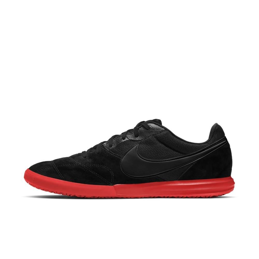 Nike Tiempo Premier II Sala IC Futsal Innendørs Fotballsko Sort/Rød