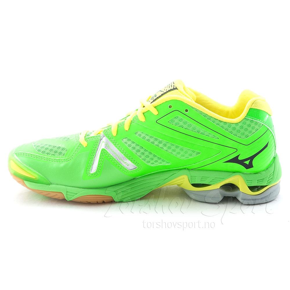 Mizuno Wave Lightning RX3 Hallsko Herre Grønn