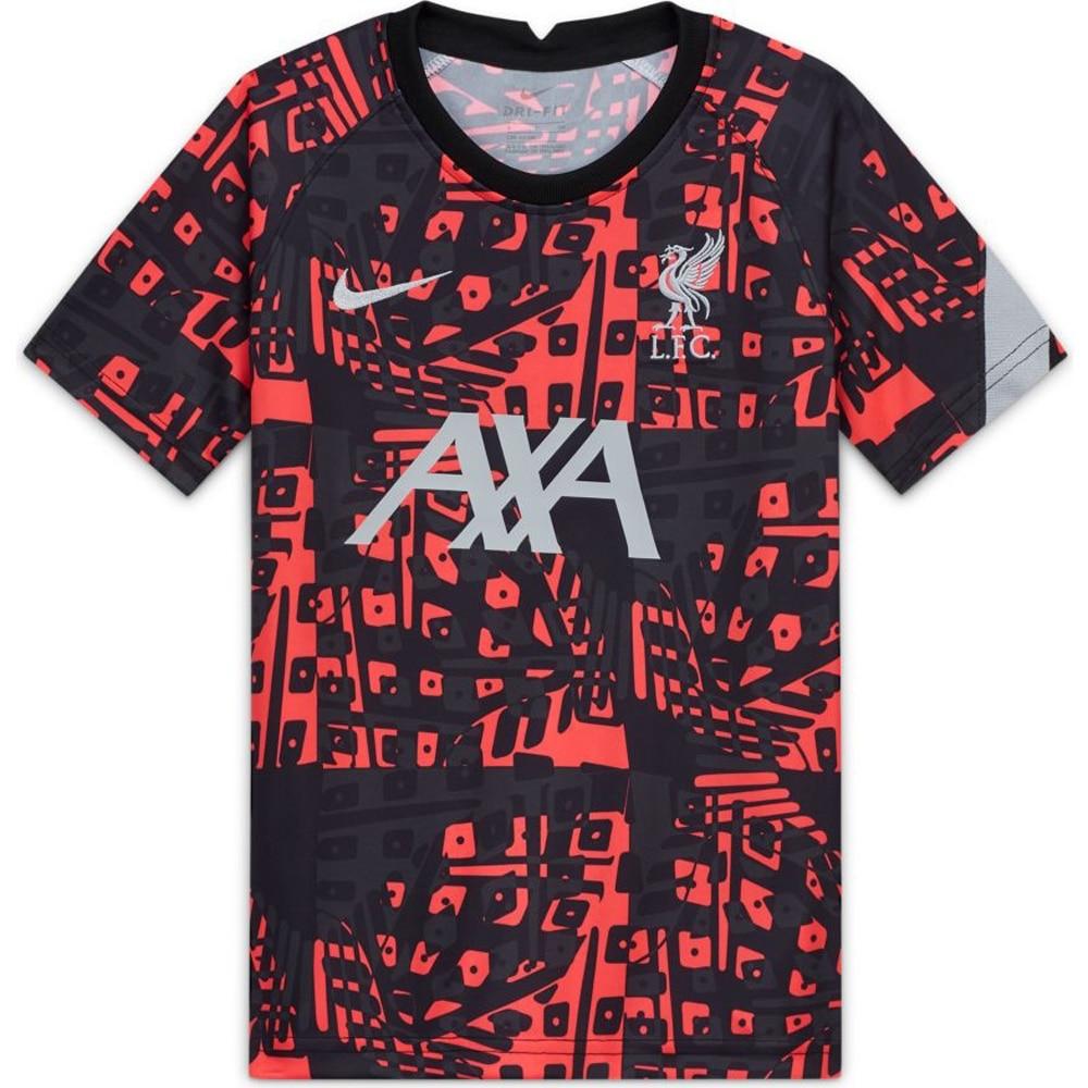 Nike Liverpool FC Pre Match Dry fotballtrøye 20/21 3rd Sort/Rød