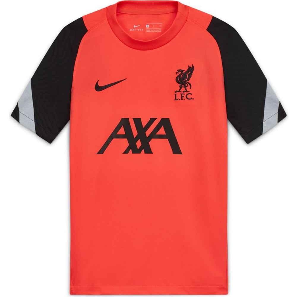 Nike Liverpool FC Breathe Strike Treningstrøye 20/21 Barn Crimson Rød