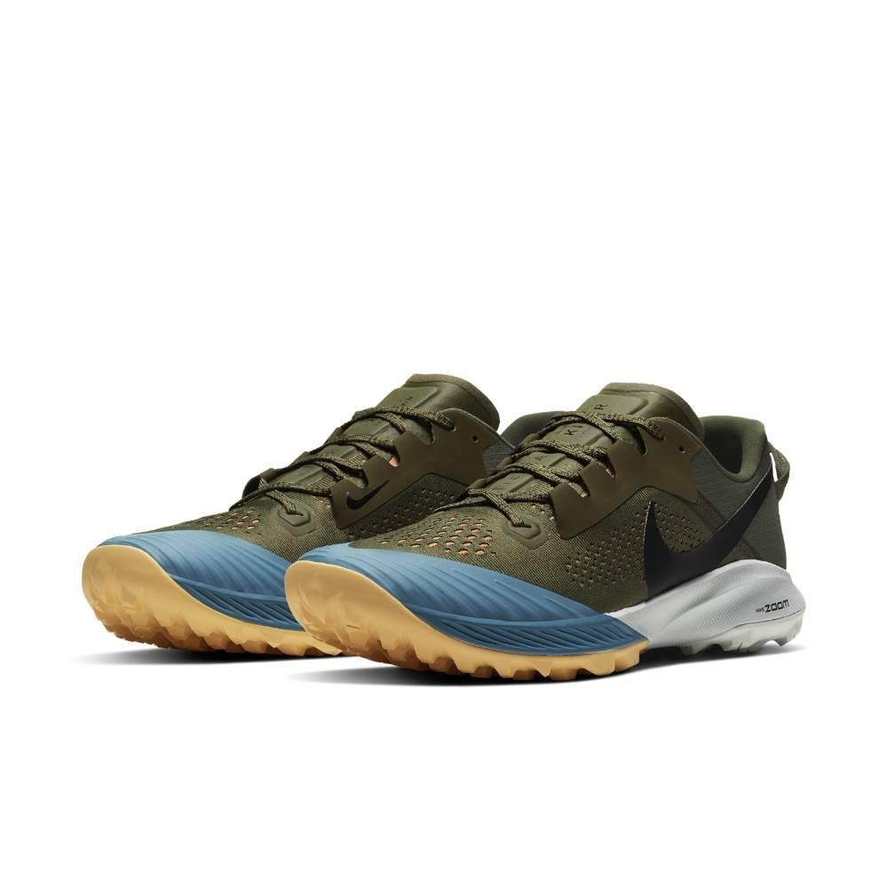 Nike Air Zoom Terra Kiger 6 Joggesko Herre Olivengrønn