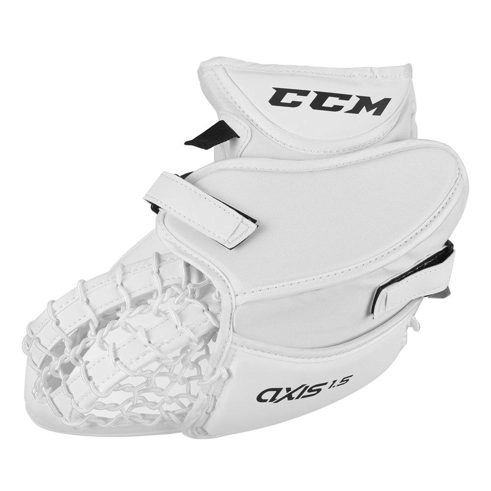 Ccm AXIS 1.5 Junior Snapphanske Hvit