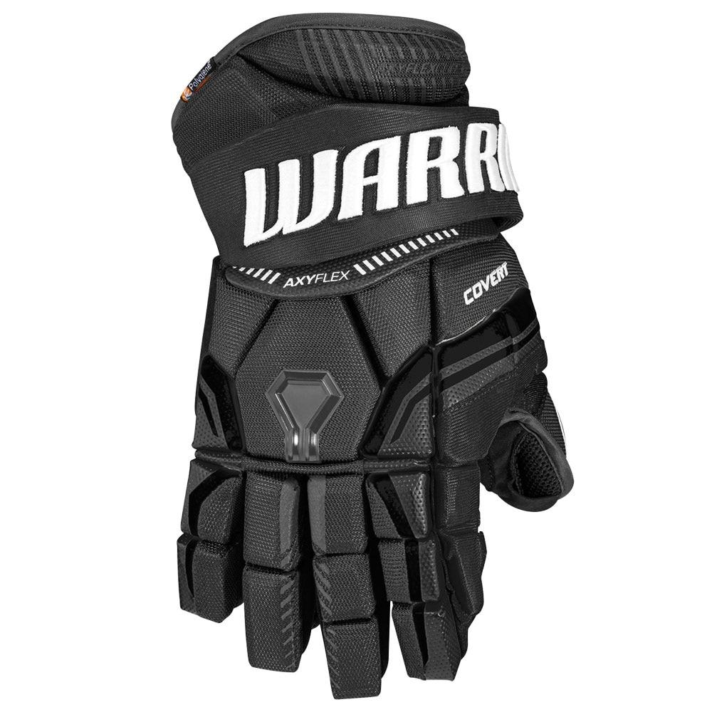 Warrior Covert QRE 10 Junior Hockeyhanske Svart