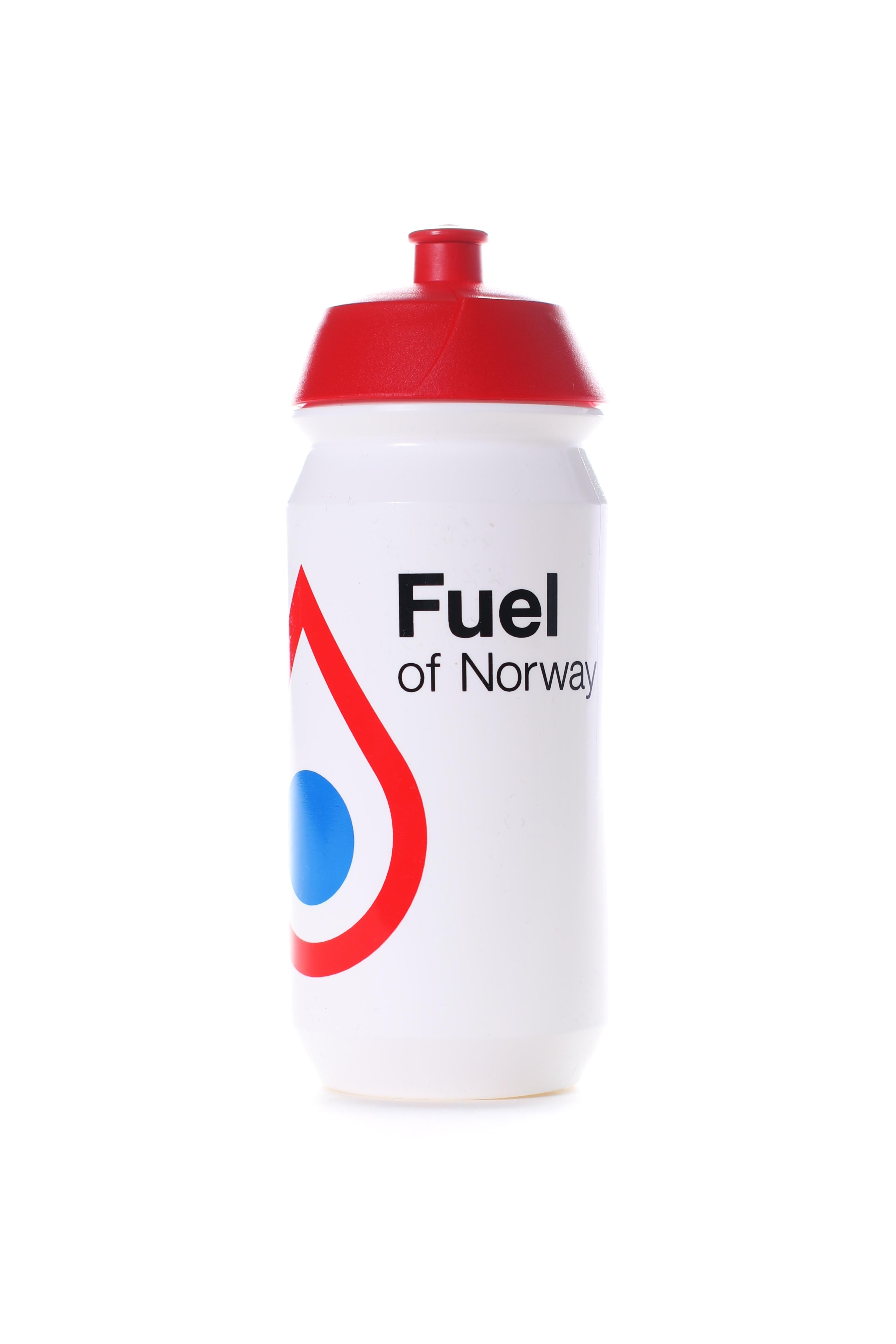 Fuel of Norway Drikkeflaske 0.5L Rød kork