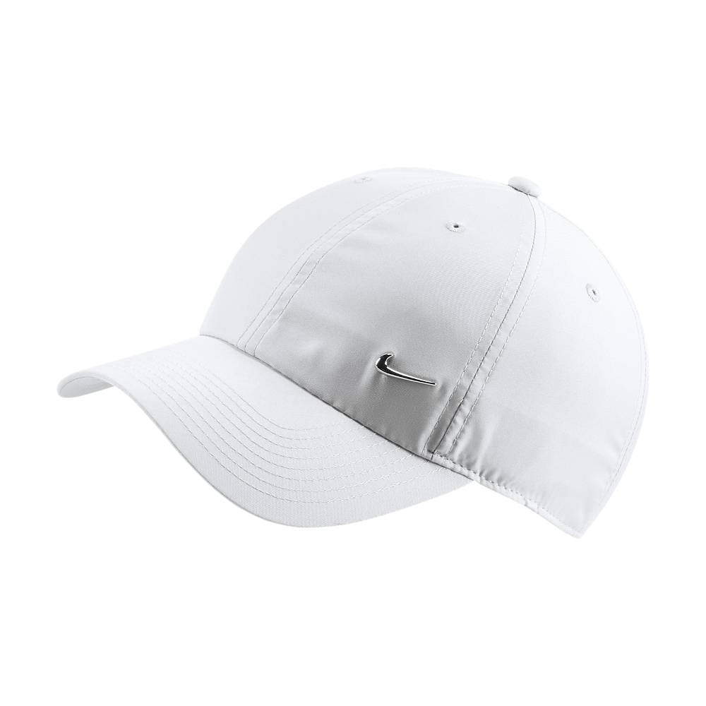 Nike NSW H86 Metal Swoosh Caps Hvit