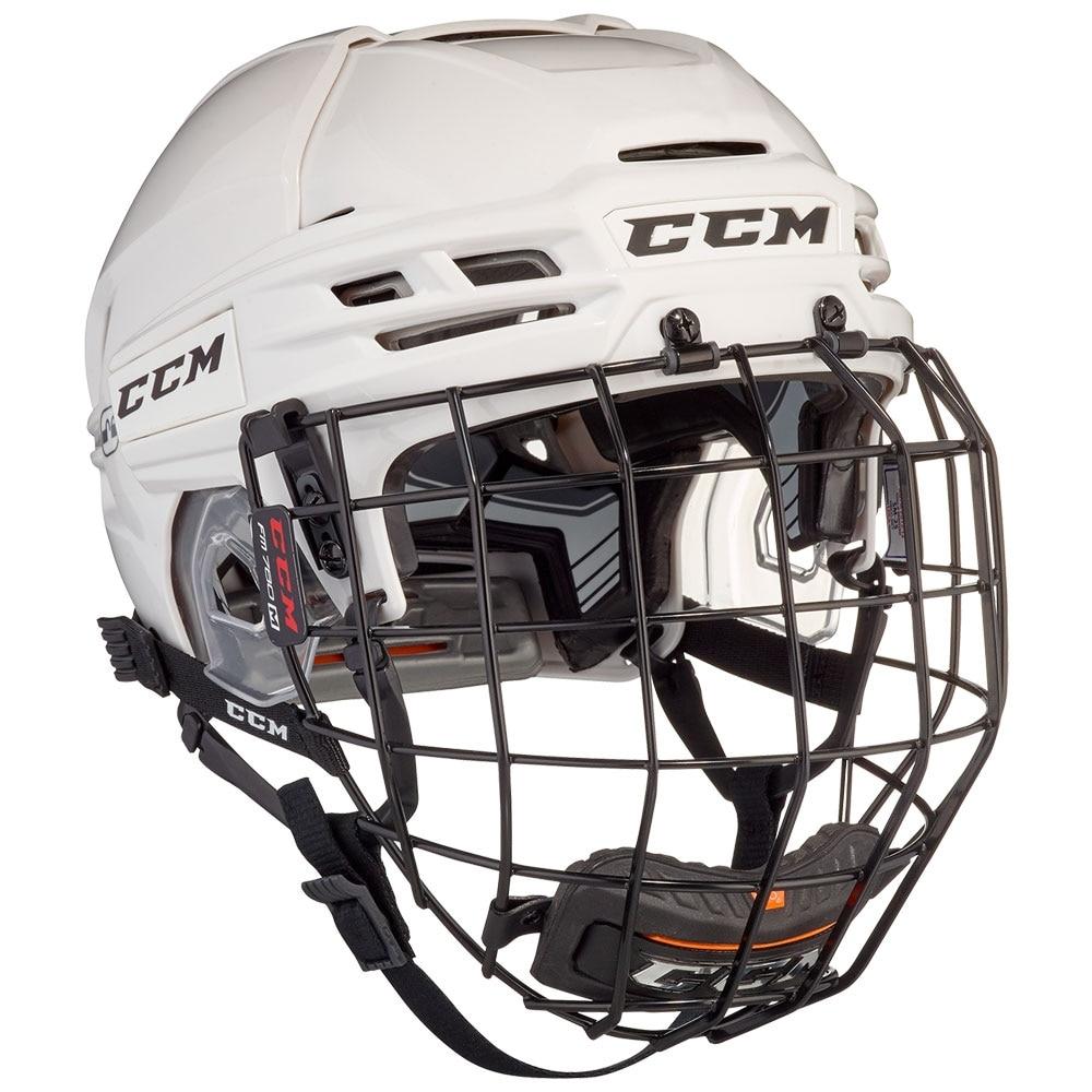 Ccm Tacks 910 Combo Hockeyhjelm Hvit