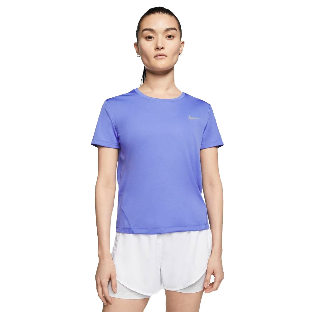 Nike Miler Treningstrøye Dame Blå