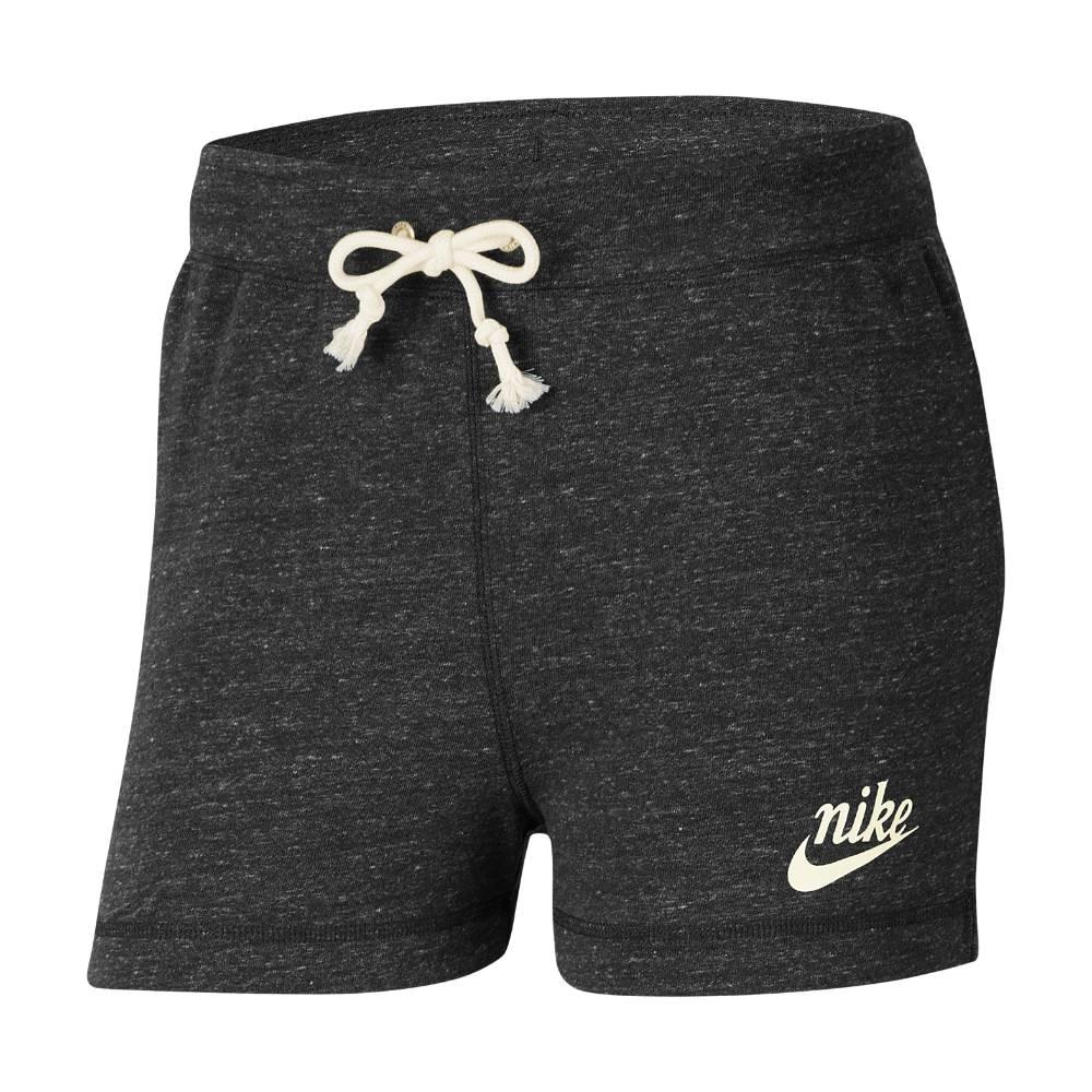 Nike Gym Vintage Fritidsshorts Dame Grå