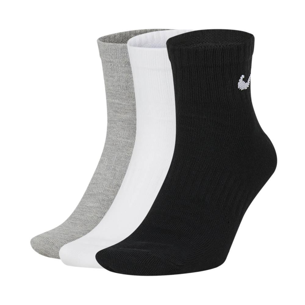Nike Sokker 3-Pack Grå/Hvit/Sort