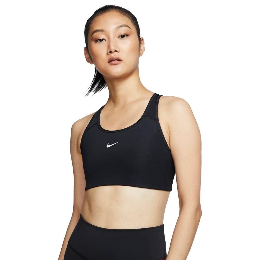 Nike Swoosh Sports-BH Dame Sort