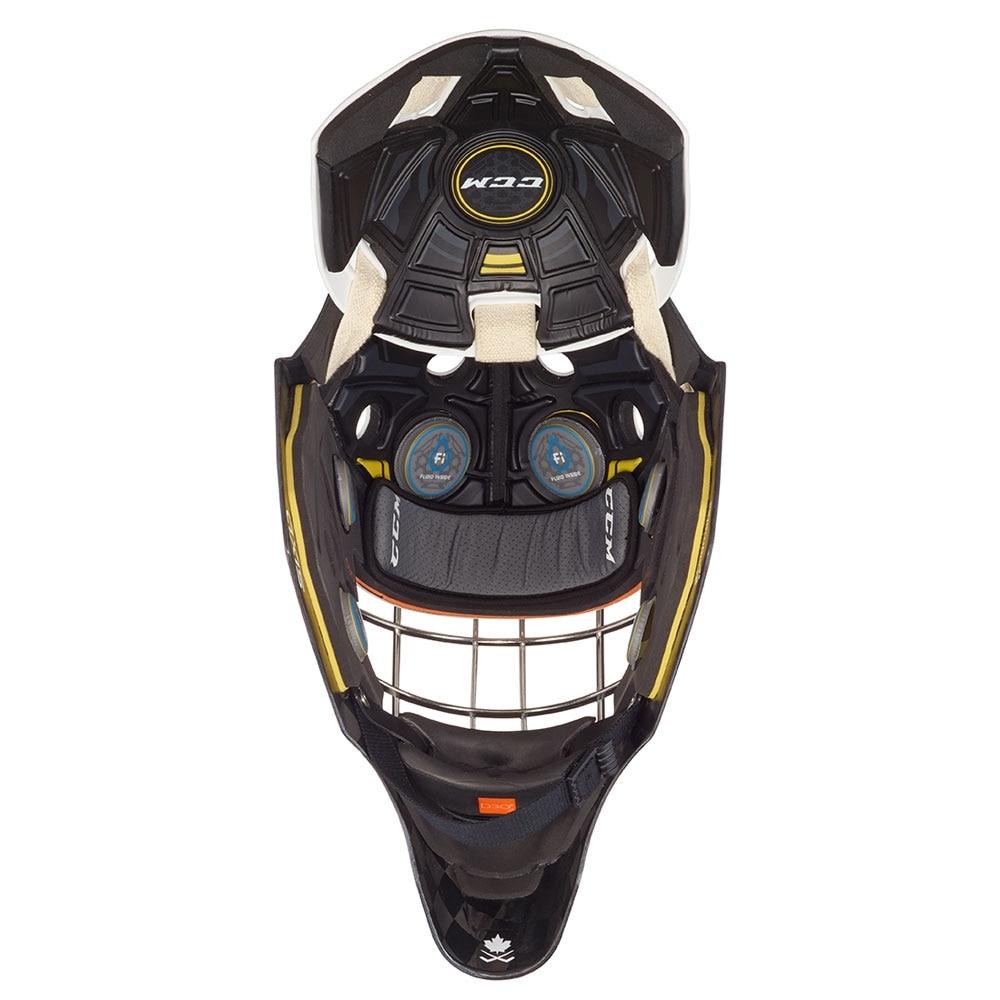 Ccm AXIS PRO Keepermaske Hockey Non-Certified Cat Eye Hvit