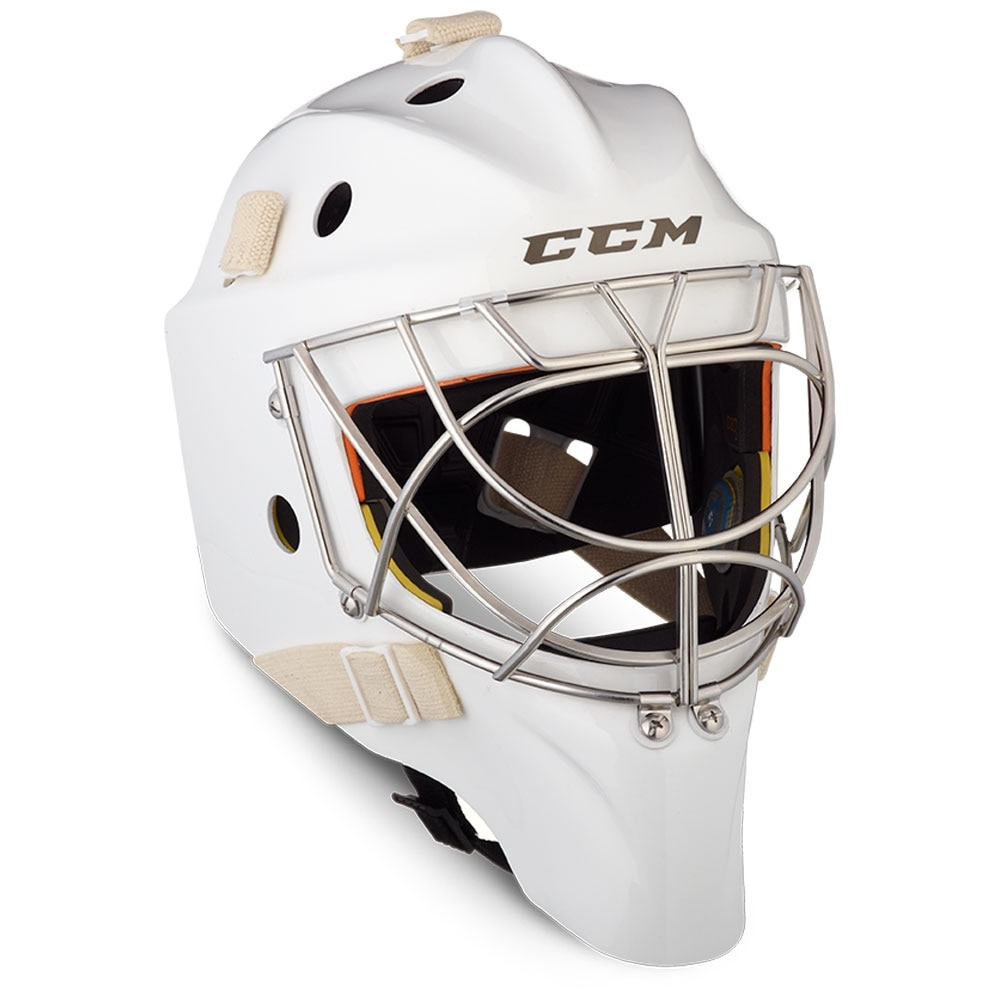Ccm AXIS PRO Keepermaske Hockey Non-Certified Cat Eye Hvit