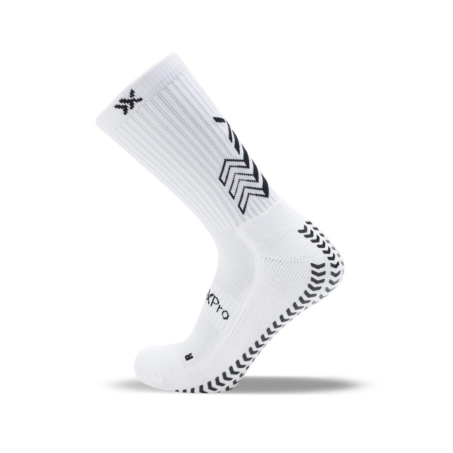 SOXPro Grip Fotballstrømper Hvit
