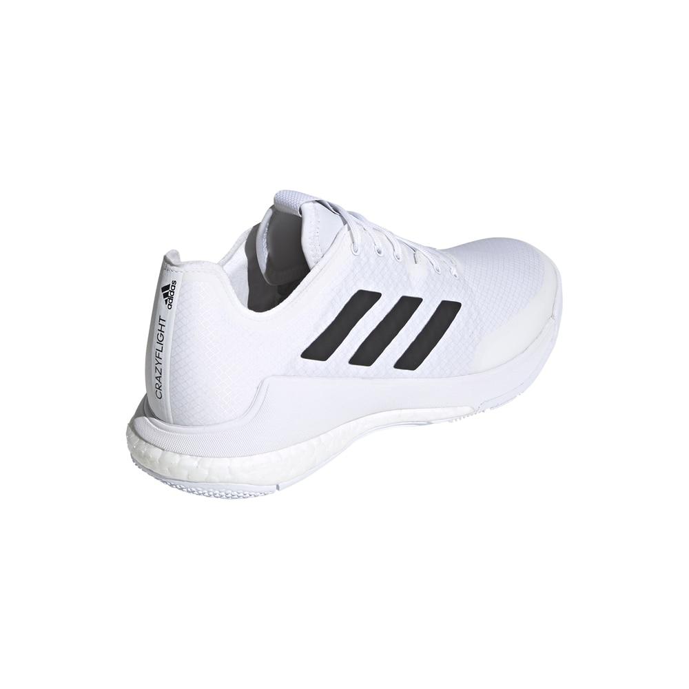 Adidas Crazyflight Hallsko Herre Hvit