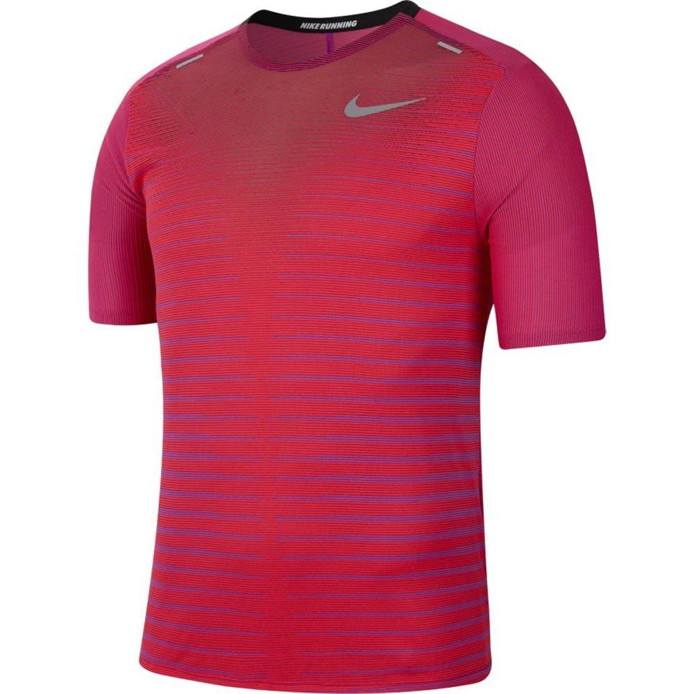 Nike Techknit Future Løpetrøye Herre Rosa