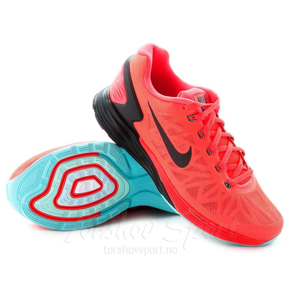 Nike Lunarglide 6 Joggesko Dame Bright Crimson