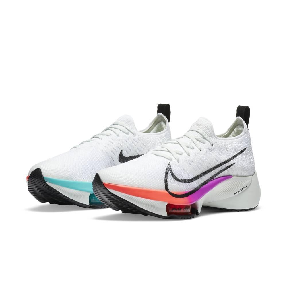 Nike Air Zoom Tempo Next% Flyknit Joggesko Dame Raw Kinetic