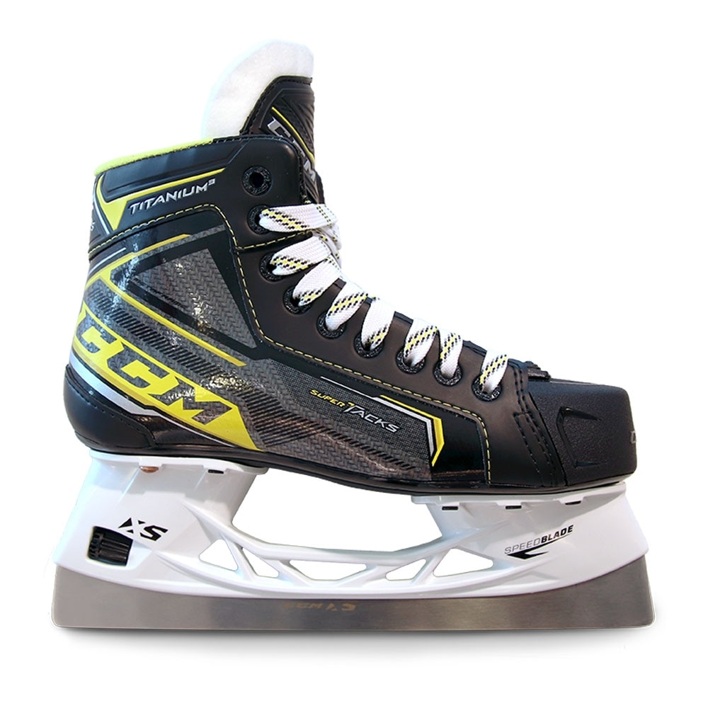Ccm Tacks Titanium 3 Int./Junior Bandyskøyte