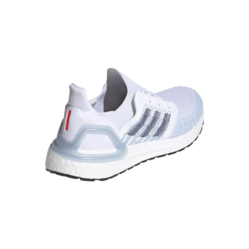 Adidas UltraBoost 20 Joggesko Herre Hvit/Lyseblå