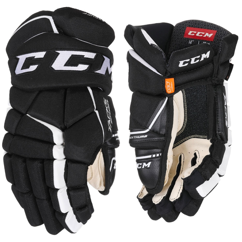 Ccm Tacks 9080 Junior Hockeyhanske Svart