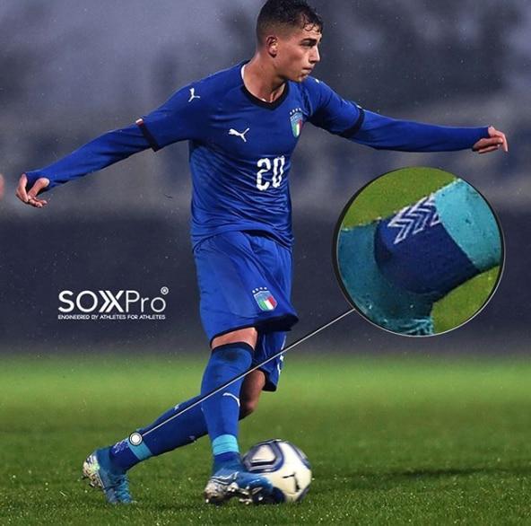 SOXPro Grip Fotballstrømper Blå