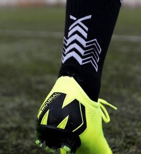 SOXPro Grip Fotballstrømper Sort