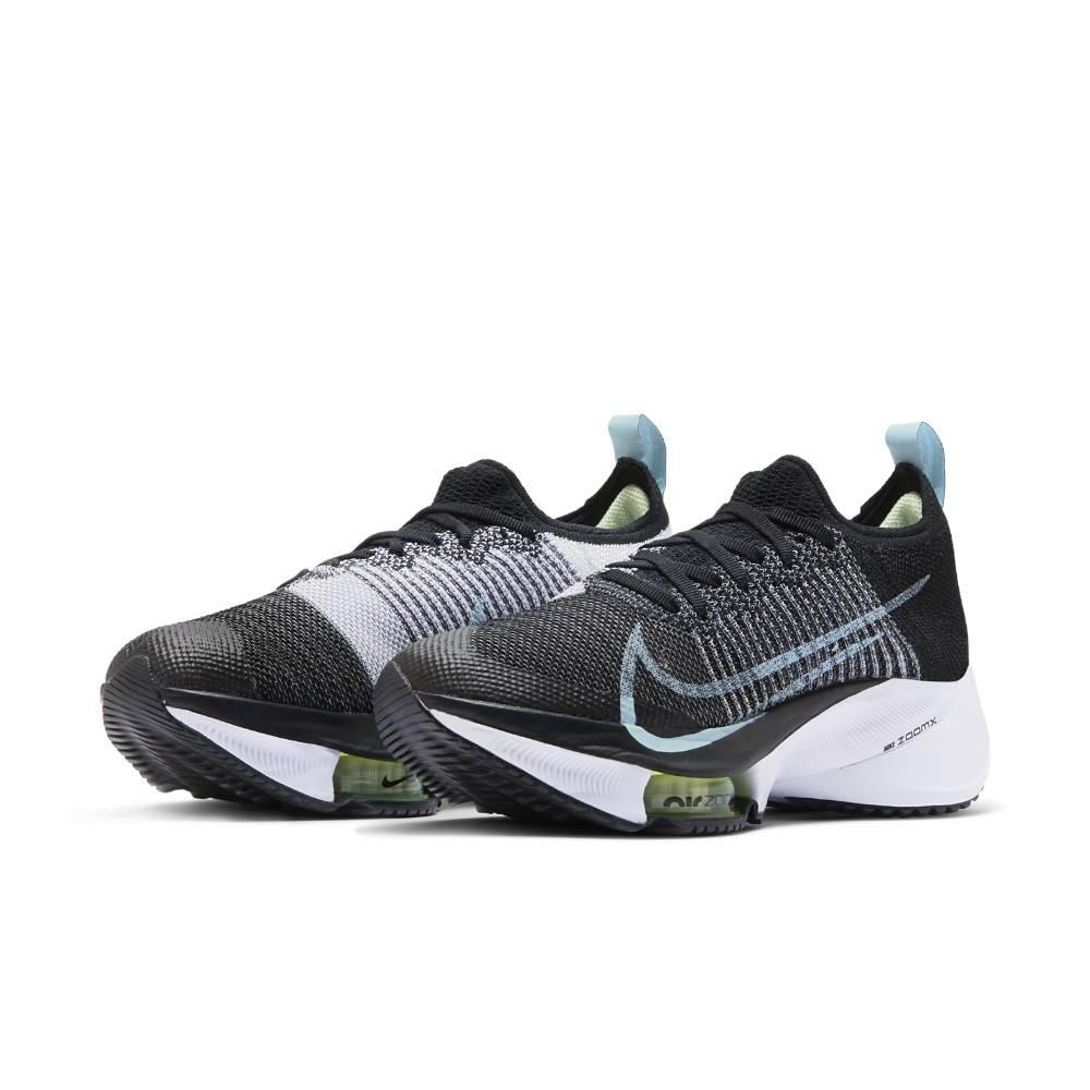 Nike Air Zoom Tempo Next% Flyknit Joggesko Dame Sort