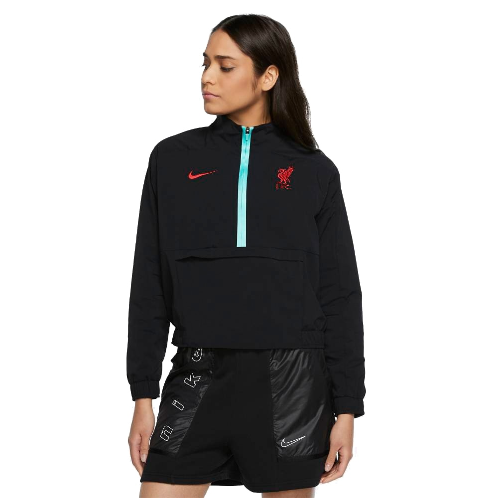 Nike Liverpool FC Fotballjakke 20/21 Dame Sort