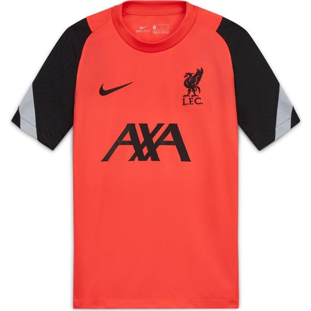 Nike Liverpool FC Breathe Strike Treningstrøye 20/21 Crimson Rød