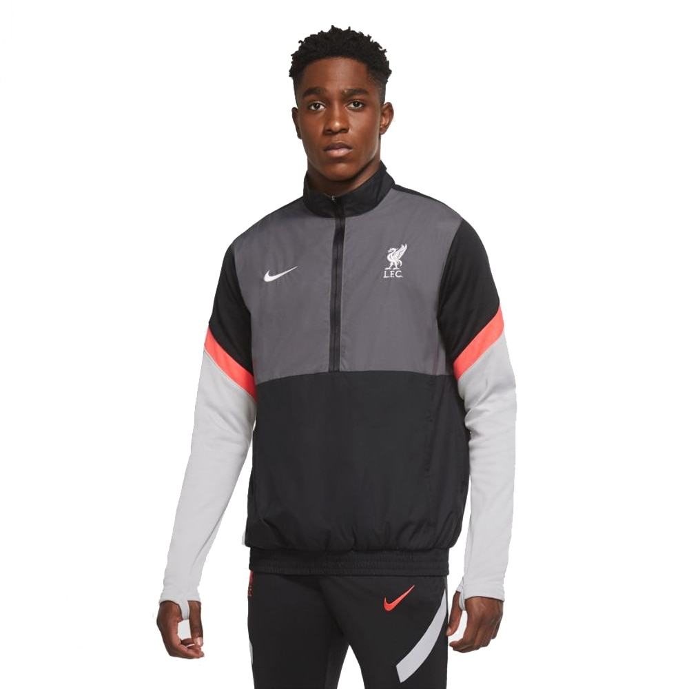 Nike Liverpool FC Woven Track Fotballjakke 20/21 Sort