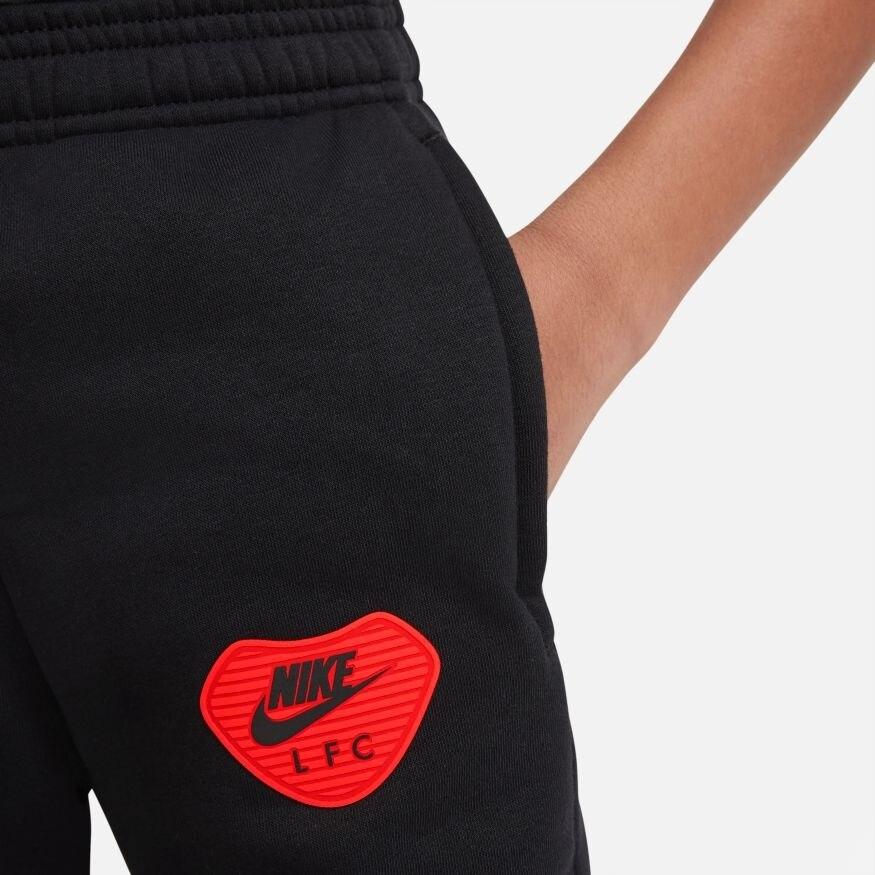 Nike Liverpool FC Fleece Fritidsbukse 20/21 Barn Sort