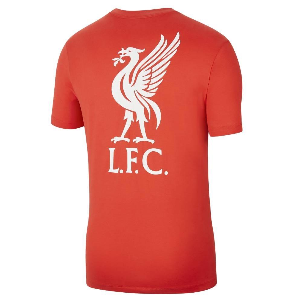 Nike Liverpool FC T-Skjorte 20/21 Barn Crimson Rød