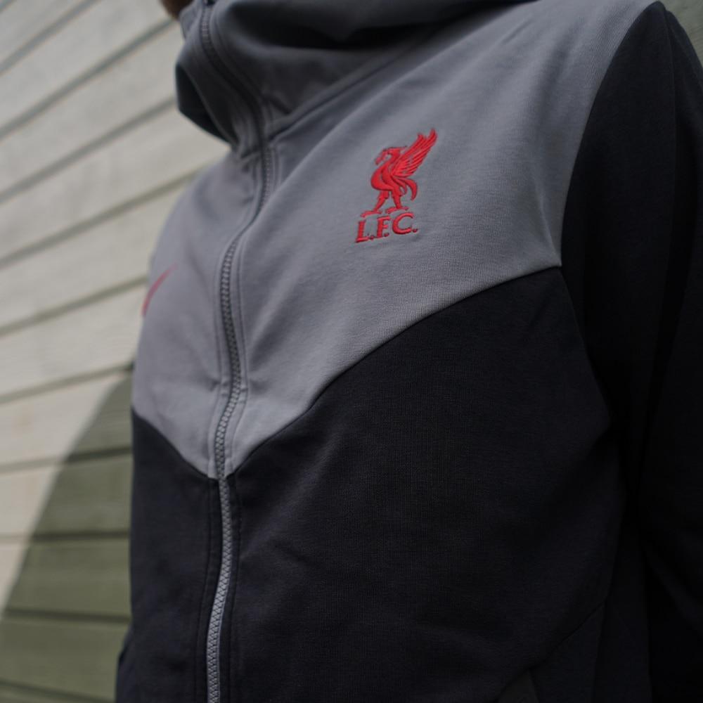 Nike Liverpool FC Tech Pack Hoodie Hettegenser 20/21 Sort