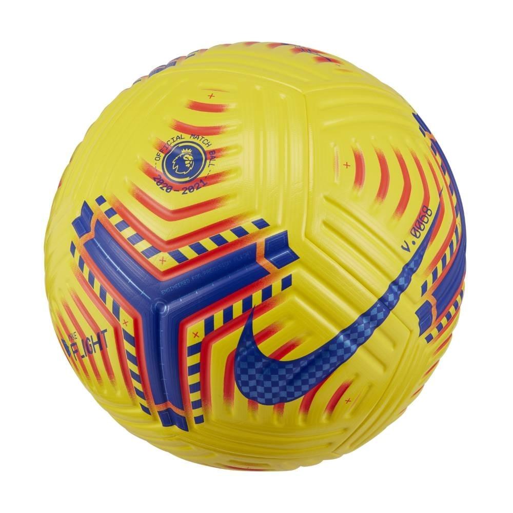 Flight Premier League Matchball Fotball Hi-Vis 2020/21 Gul