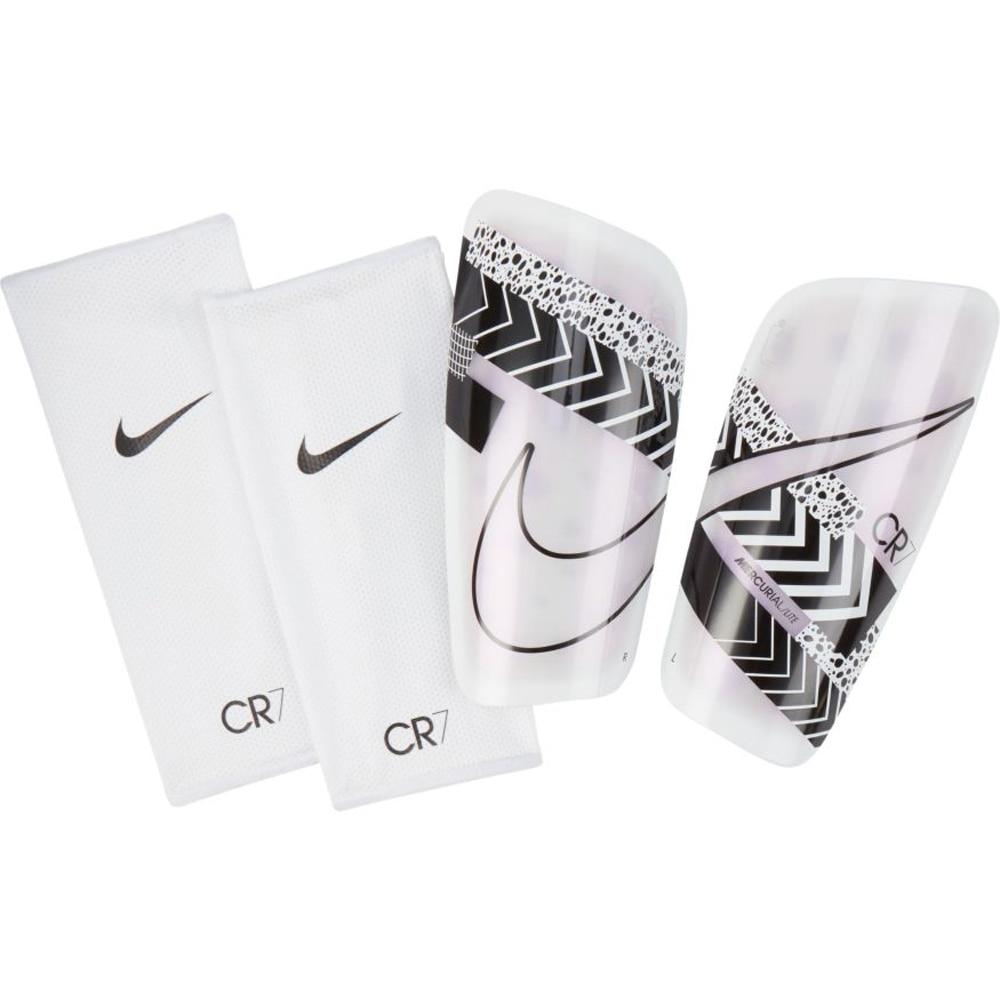Nike CR7 Mercurial Lite Leggskinn Hvit