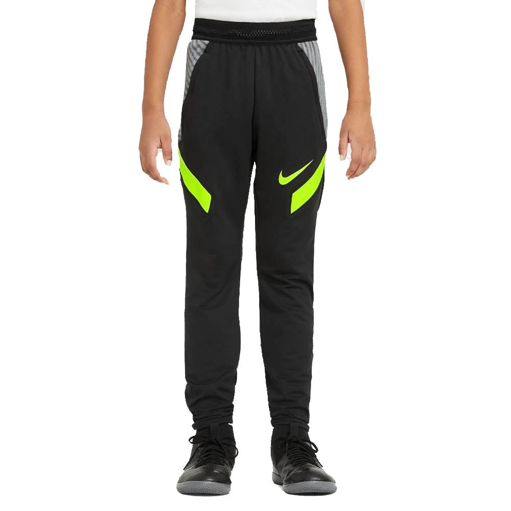 Nike Dry Strike Fotballbukse Barn Sort/Volt