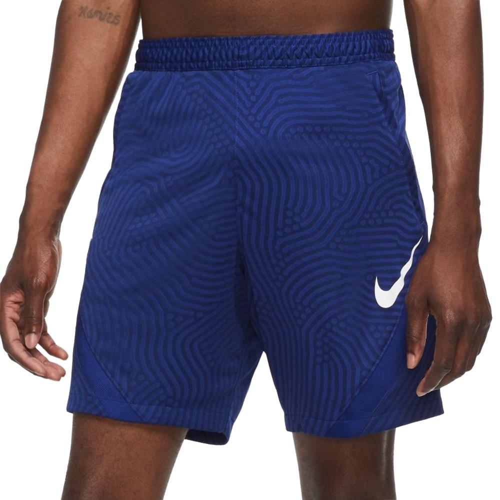 Nike Dry Strike Fotballshorts Knit Barn Blå