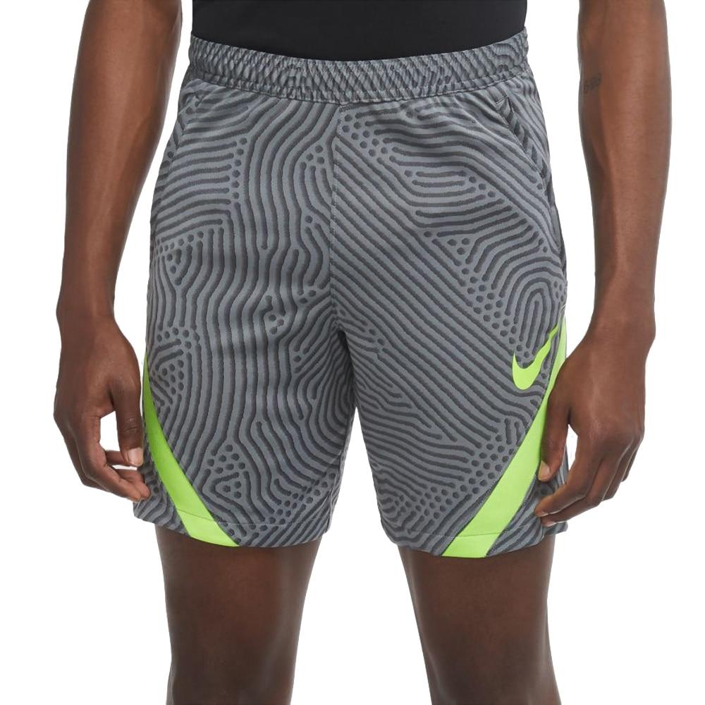 Nike Dry Strike Fotballshorts Knit Grå