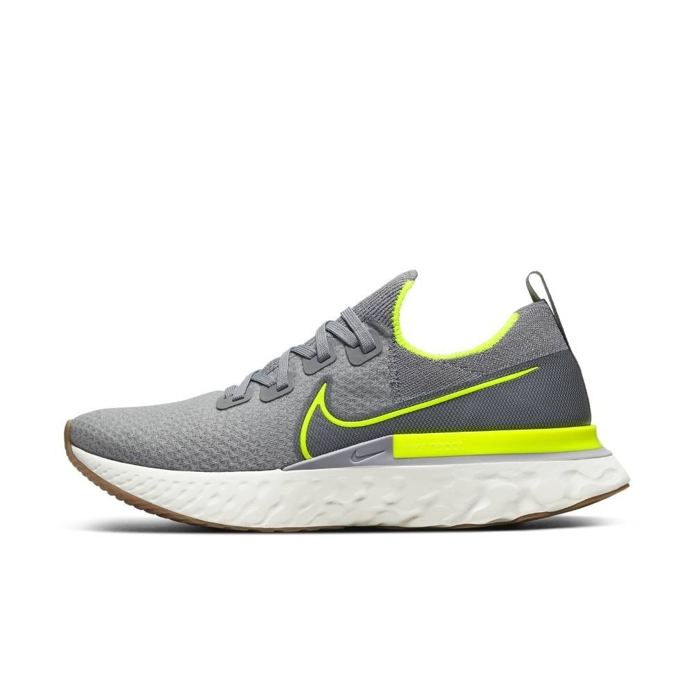 Nike React Infinity Run Flyknit Joggesko Grå