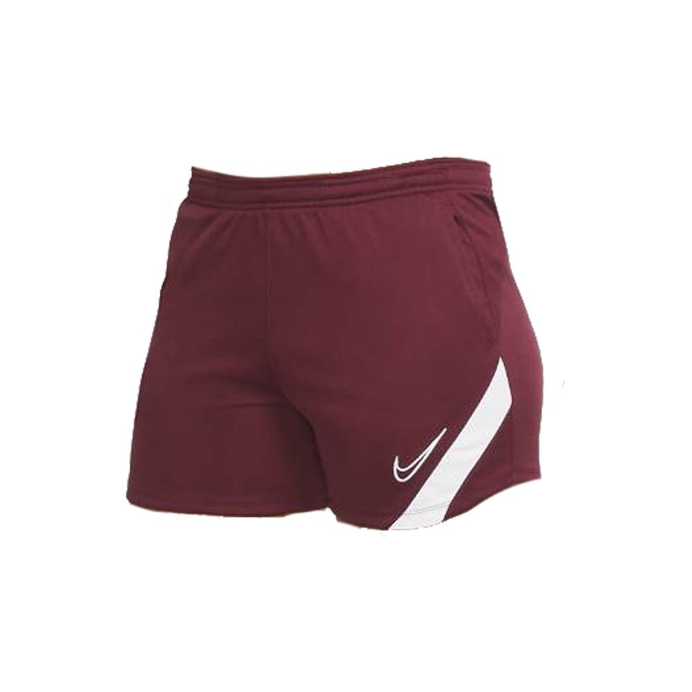 Nike Dry Academy Fotballshorts Dame Burgunder