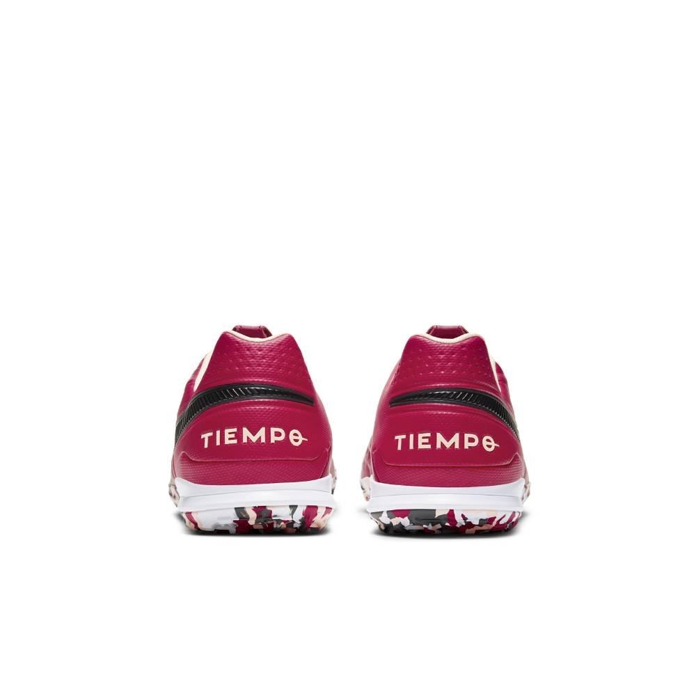 Nike TiempoX Legend 8 Pro TF Fotballsko Burgunder