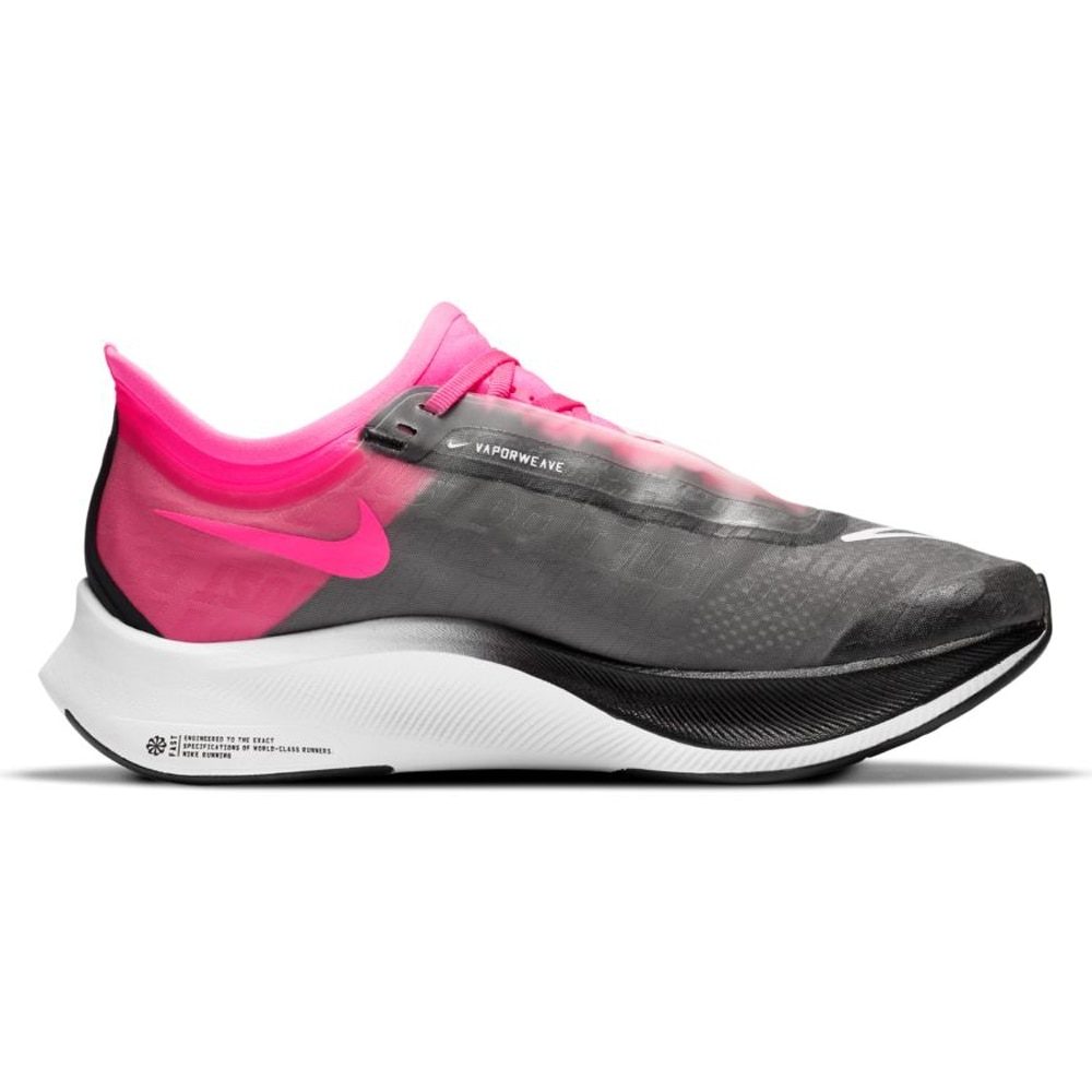 Nike Zoom Fly 3 Joggesko Dame Sort/Rosa