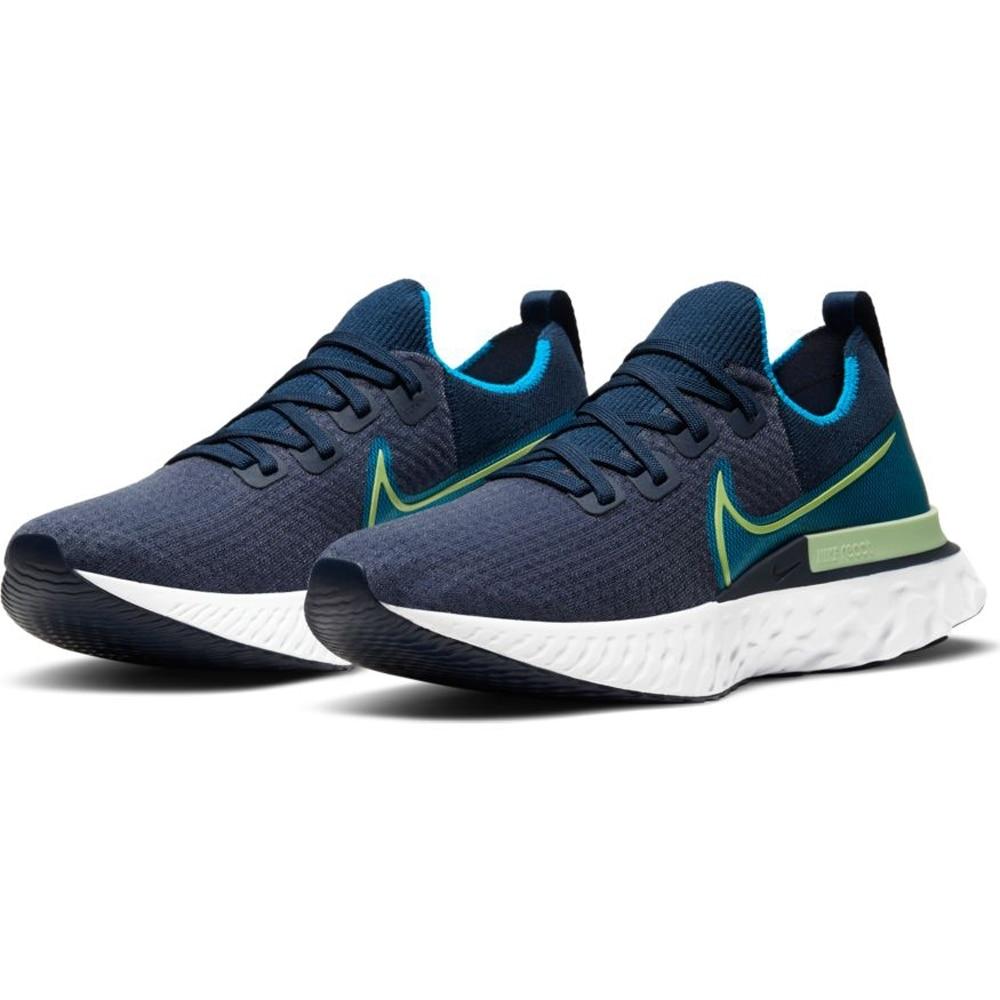 Nike React Infinity Run Flyknit Joggesko Herre Marine