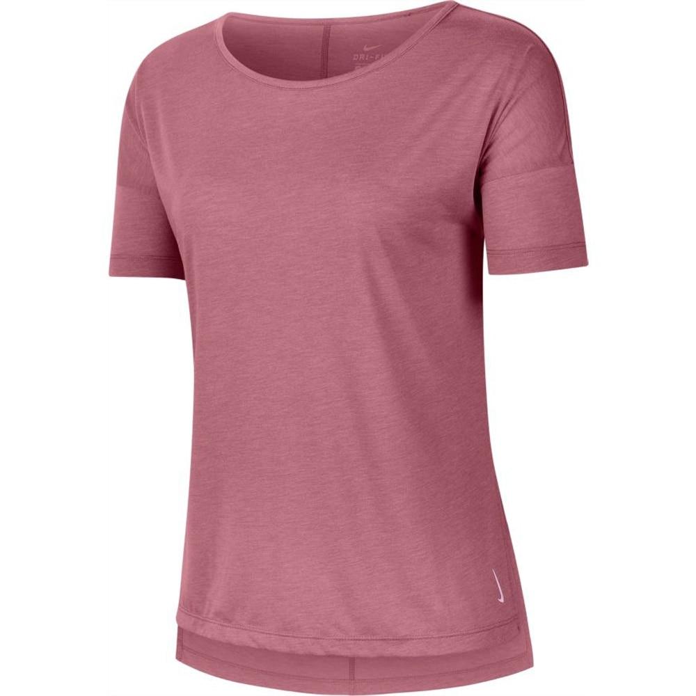 Nike Yoga Treningstrøye Dame Rosa