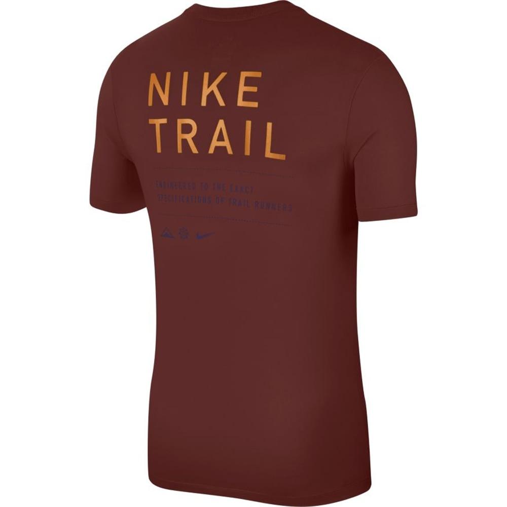 Nike Dri-FIT Trail Treningstrøye Herre Burgunder
