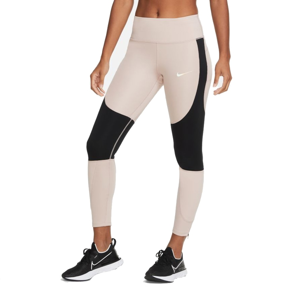 Nike Run Epic Lux Tights Dame Beige