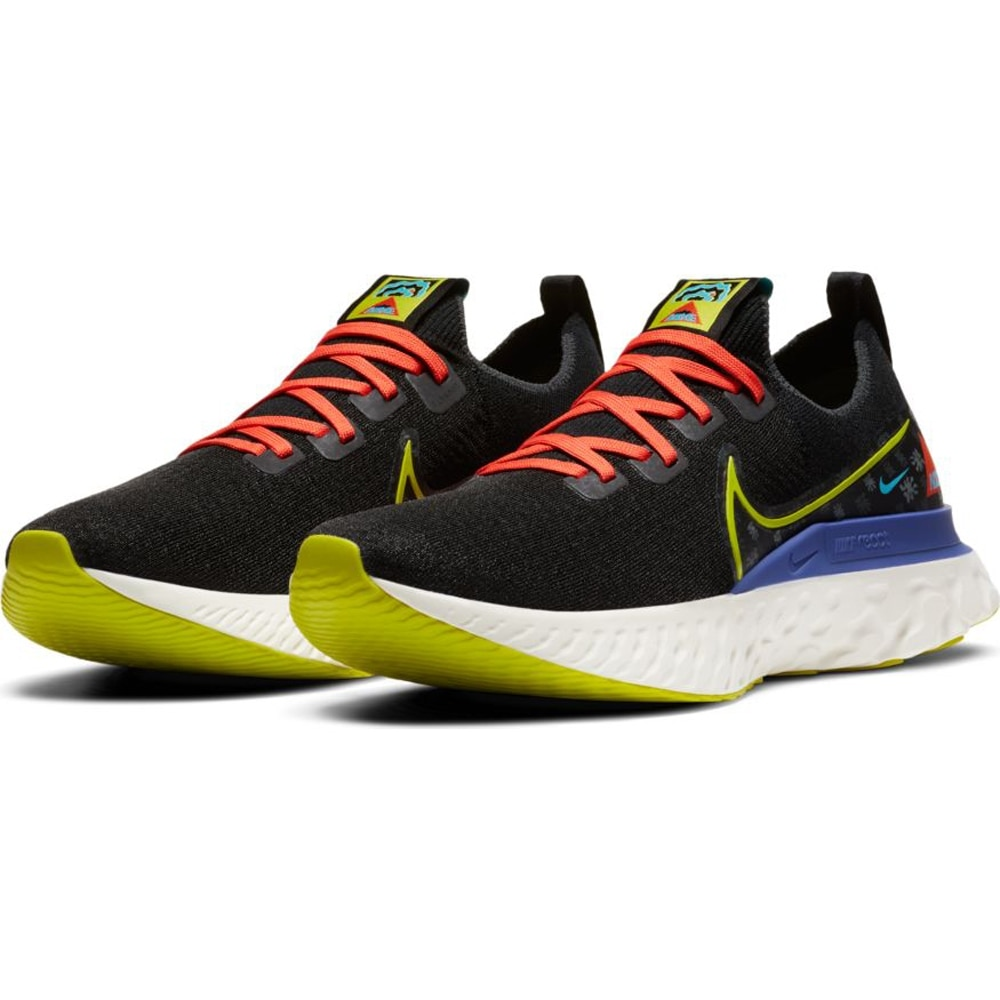 Nike React Infinity FlyKnit Joggesko AS Herre Sort