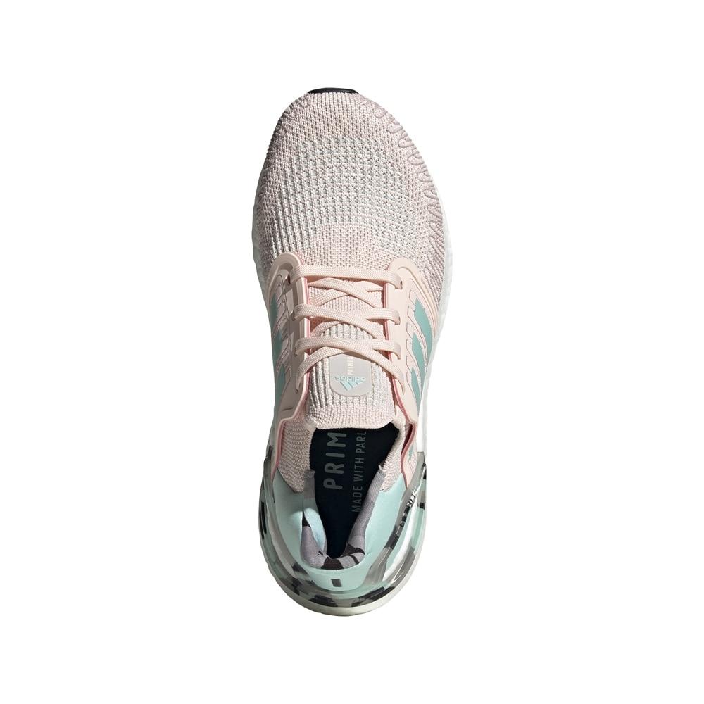 Adidas Ultraboost 20 Joggesko Dame Rosa/Turkis