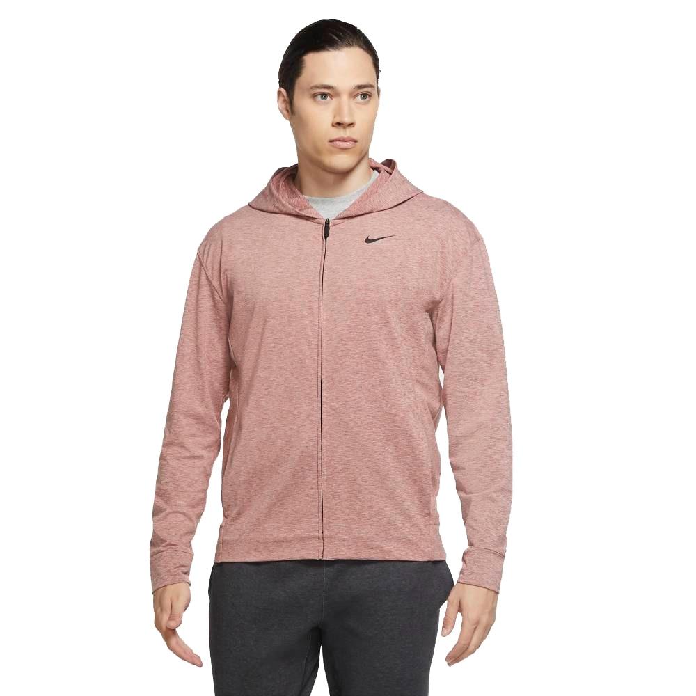 Nike Dry Hoodie FullZip Hettegenser Herre Rød
