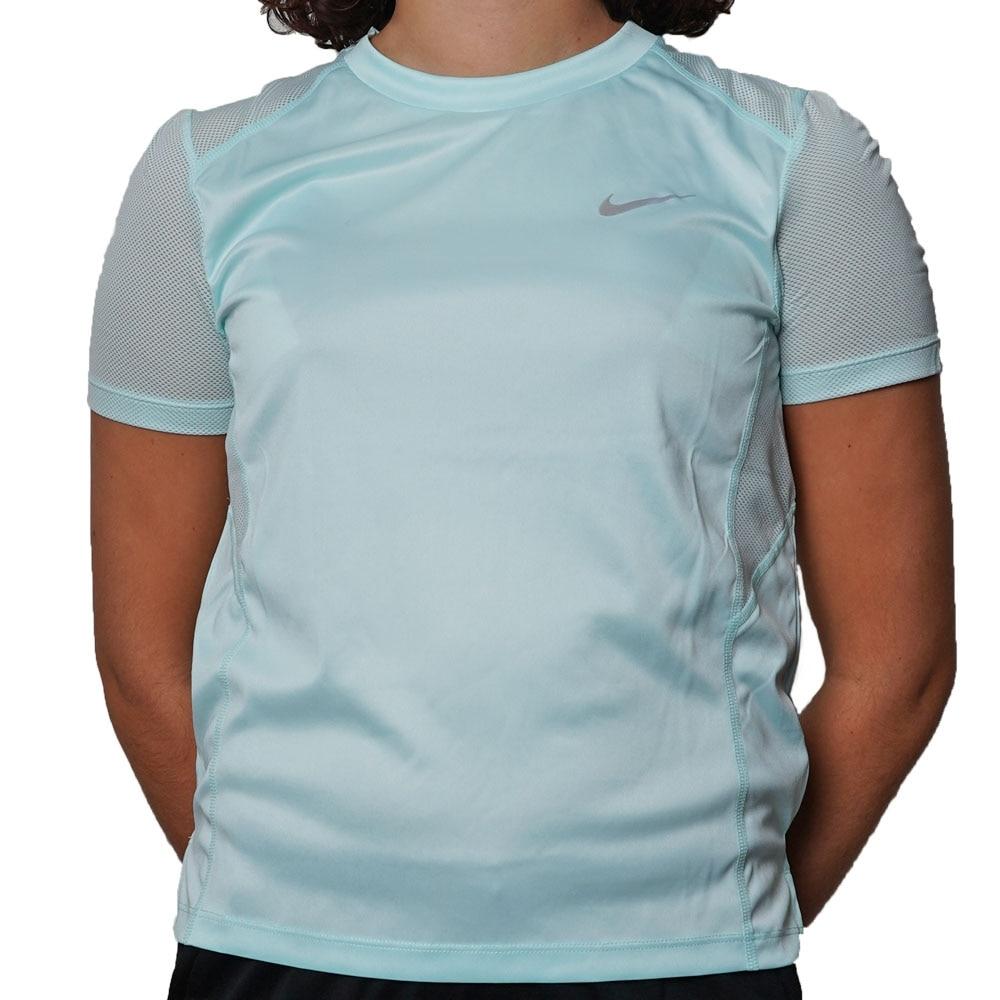 Nike Dry Miler Treningstrøye Dame Turkis